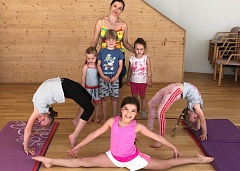 "Summer camp ""Gymnastics for all"""