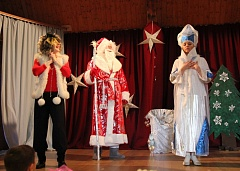 "Christmas music show ""Snow Queen"""